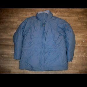 LL Bean Goose Down GoreTex Jacket Parka Women's XL